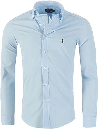 Ralph Lauren Outlet - Camisa para hombre (corte ajustado, tallas S, M, L, XL-XXL)