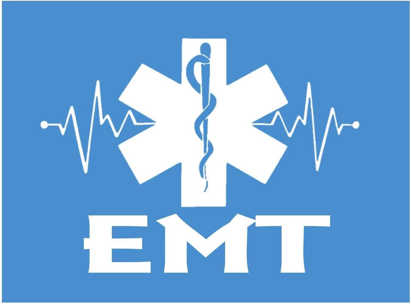 18 Wood EMT EMS Star of Life Monogram Laser Cutout Shape Unfinished