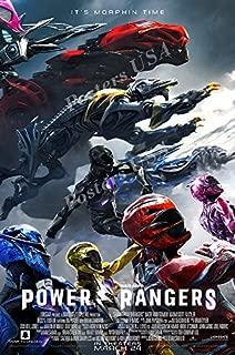 power rangers poster 2017