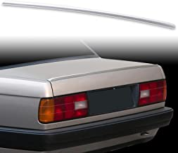 FYRALIP Painted Factory Print Code Trunk Lip Wing Spoiler For 1982-1990 BMW 3-Series E30 Sedan Coupe Fast Delivery Easy Installation Perfect Fit - 416 Carbon Black Metallic