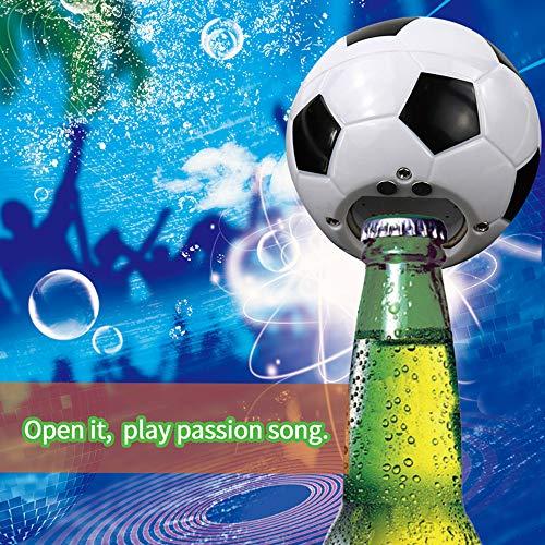 Elektrische Muziek Fles Opener Voetbal Team Gift Bier Fles Opener met Aangepaste Geluid Keuken Gadget Keuken Accessoires