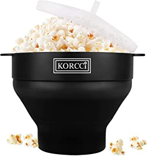 Original Microwaveable Silicone Popcorn Popper, BPA Free Collapsible Hot Air Microwavable Popcorn Maker Bowl, Use In Micro...