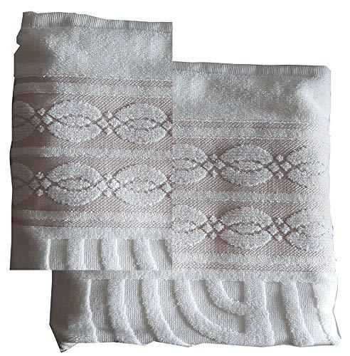 La Bottega del Risparmio Pierre Cardin - Juego de 1 + 1 toalla de invitados de algodón
