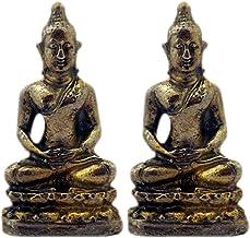 Divya Mantra Meditating Gautam Buddha Sculpture Statue Murti Puja Room, Meditation, Prayer, Office, Business, Home Decor G...