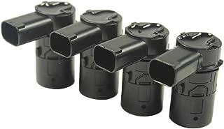 JDMSPEED New Set of 4 Pcs Bumper Backup Parking Sensor for 4F23-15K859-AA 4F2315K859AA