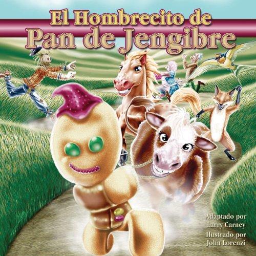 El Hombrecito de Pan de Jingerbre audiobook cover art