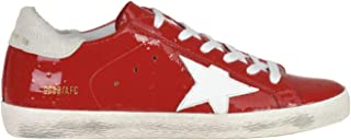 GOLDEN GOOSE Women's MCGLCAK000006017I Red Leather Sneakers