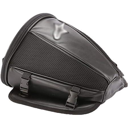 Biuzi Motorcycle Bag Motorcycle Tailgate Carbon Style Waterproof Motorcycle Tail Bag Waterproof Motorcycle Back Pocket Küche Haushalt