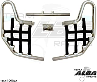 TRX 400EX SPORTRAX (1999-2014) Standard Nerf Bars - Compatible with Honda - Silver Bars - Compatible with Honda - w/Black Net