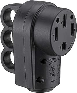 Miady 50AMP RV Replacement Female Plug with Easy Unplug Design