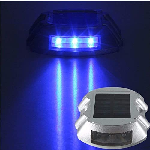 In Newly Solar Energy Led Light Waterproof Driveway Road Stud Path Step Dock Outdoor Lamp Excellent Quality