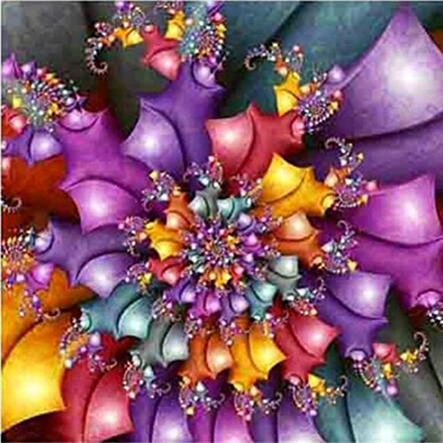 Leyorie DIY 5D Diamond Painting, Crystal Rhinestone Full Embroidery Pictures Arts Craft Home Wall Decor