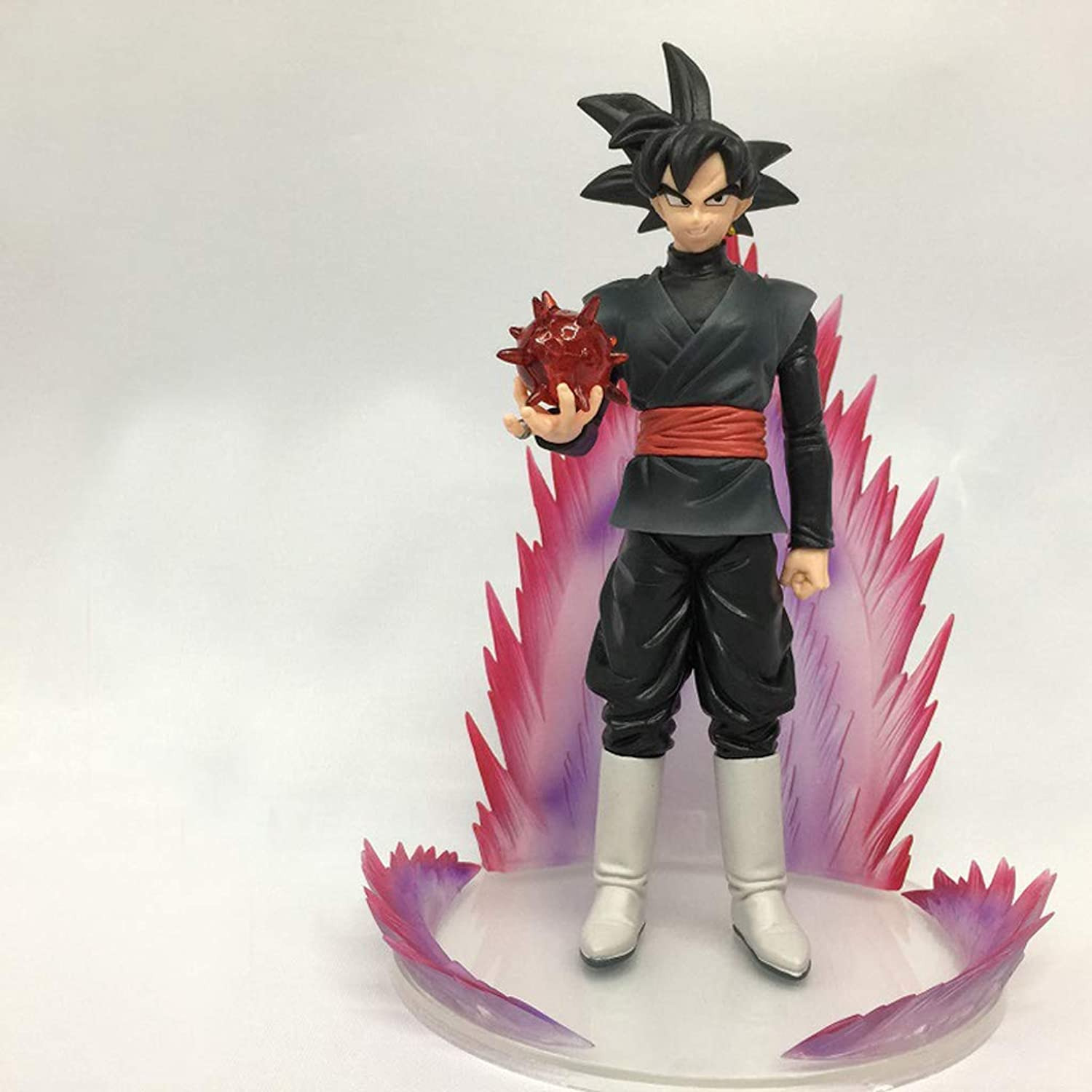 Zxwzzz Toy Statue Dragon Ball Toy Statue Saiyan Toy Model Cartoon Character Decoration Crafts Dark Sun Wukong Statue (color   A)