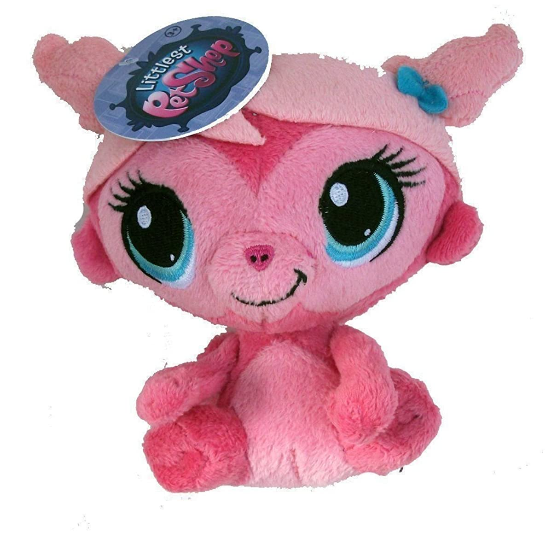 Littlest Pet Shop 5 Inch Plush - Pink Minka Mark Monkey by Funrise ,#G14E6GE4R-GE 4-TEW6W288898