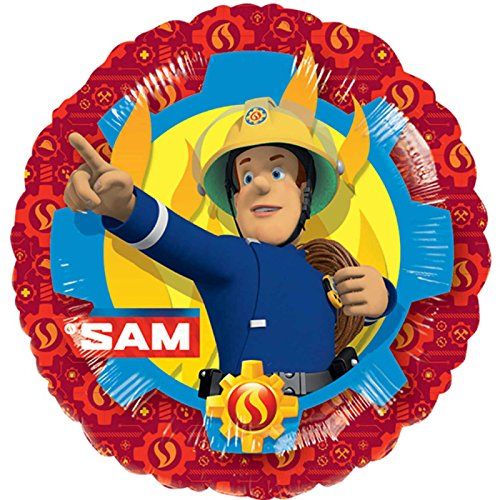 Amscan International 3571401 Folie ballonSD-C: Brandweerman Sam