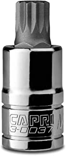 Capri Tools 30037 14mm XZN Triple Square Bit Socket with 1/2-Inch Drive Brand Capri Tools