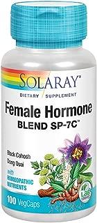 Solaray Female Hormone Blend SP-7C Capsules, 100 Count