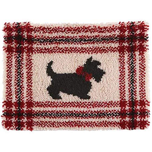LDD OUTDOOR Kits De Gancho De Pestillo Alfombras Haciendo Kits DIY Botón De Costura Paquete Mat Crochet para Decoración del Hogar Día De Las Madres Regalos