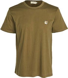 Maison Kitsune Men's T-Shirt with Fox Head Patch