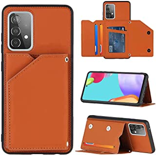 GOGME Case voor Samsung Galaxy A52 5G, Samsung Galaxy A52 5G Hoesje met Credit Card Houder Slot en Opvouwbare Portemonnee,...