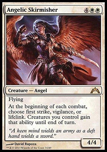 Magic The Gathering - Angelic Skirmisher (32) - Gatecrash