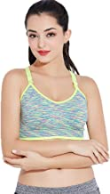 Landwalker Women's Sports Bras-Shockproof Quick Dry Bra Seamless Wireless Yoga Bra for Gym, Workout and Fitness