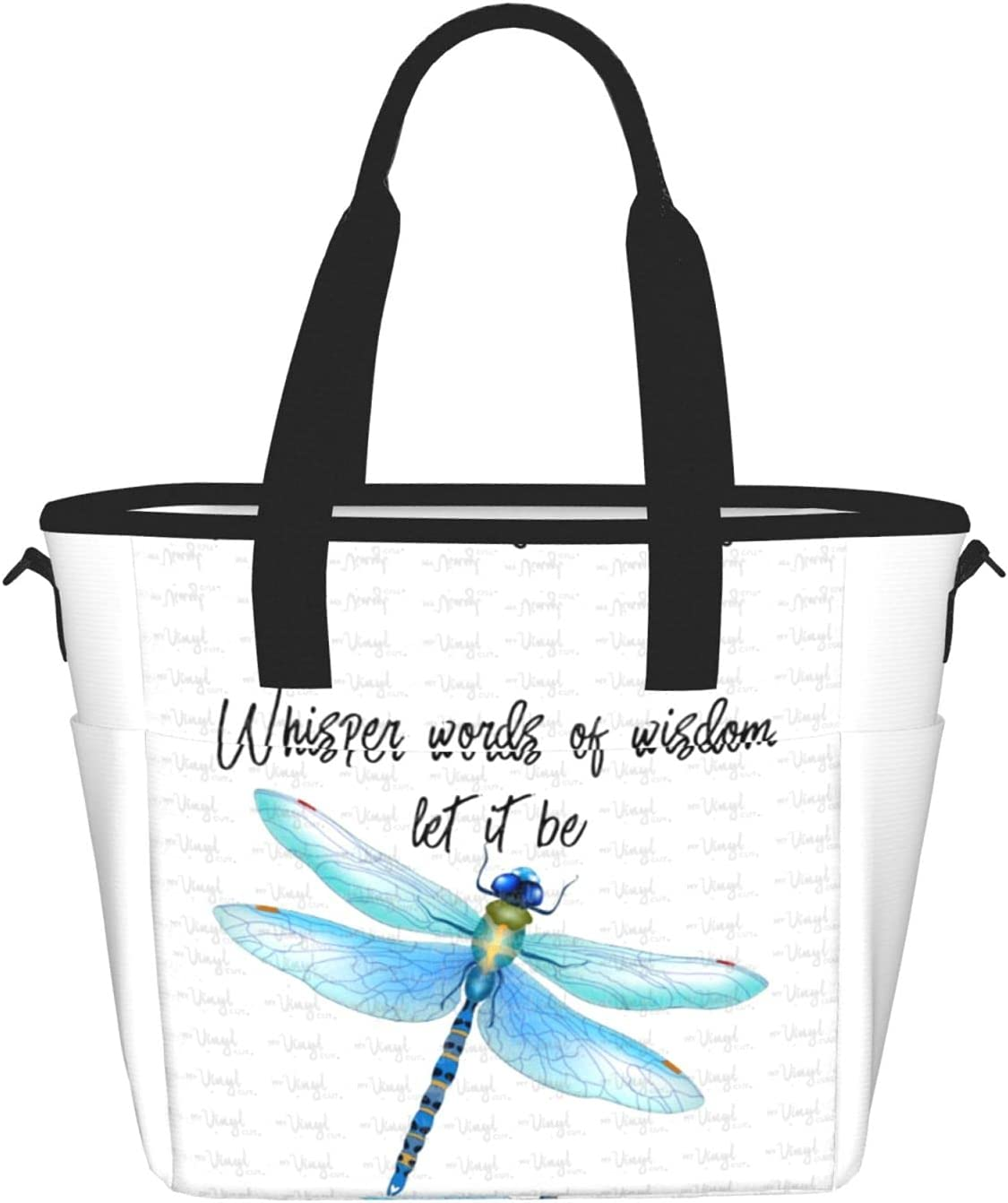 Whisper Words Of Wisdom Charlotte Mall Let It Be For Ranking TOP19 Bags Large Lunch Durable W