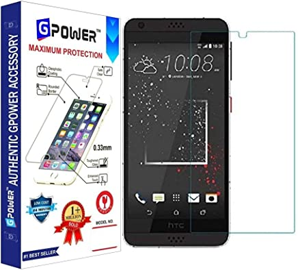G-POWER ®2.5D 0.3mm Flexible Tempered Glass Screen Protector for HTC Desire 630 with Installation Kit