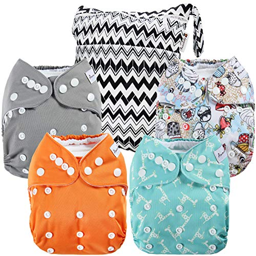 Anmababy Pocket Cloth Diapers
