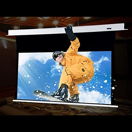 Hivilux Tension Motor Leinwand Dualspann Professionell Kinofolie Hiviwhite Cinema 1 0 8k 4k Uhd Für 3d 2d Txn Serie 16 9 Bild 244x137cm 110 Diagonal Weiss Musikinstrumente