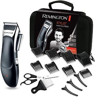 Remington Stylist HC363C - Máquina de Cortar Pelo Profesional, Kit 8 Accesorios y 8 Peines, Recargable, Cuchillas de Cerám...