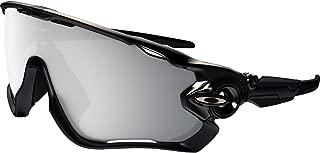 Oakley Men's OO9290 Jawbreaker Shield Sunglasses, Polished