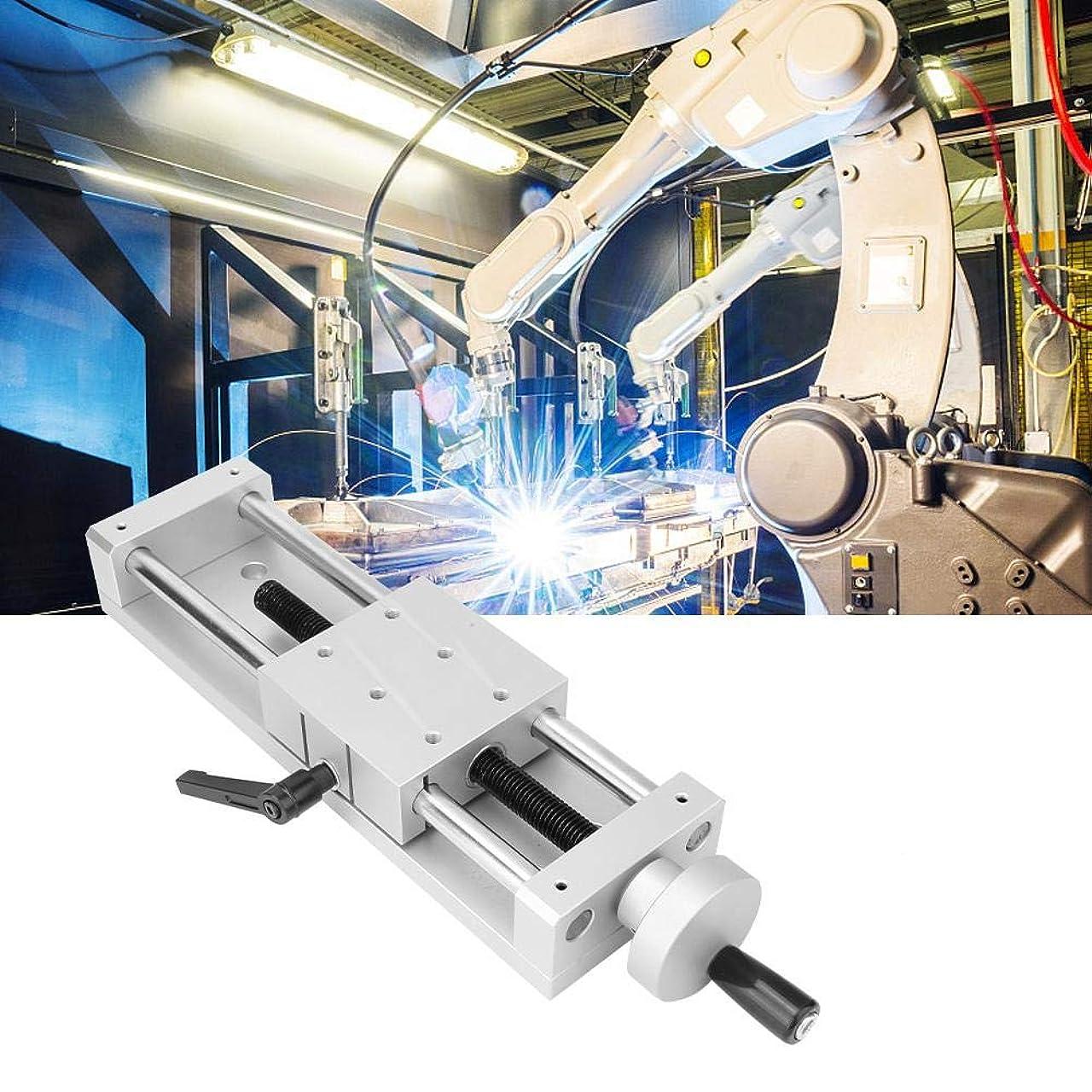 バンカー内訳再生的KA80-1402-50/100/150アルミ合金高精度スライドテーブルリニアレールステージクロス80 * 80 mm 196Nクランプ自動機器工作機械光学機器用(150mm)