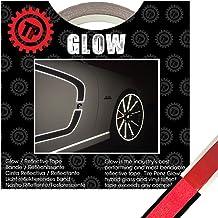 TIRE PENZ (タイヤペンズ)THE GLOW(ザ・グロウ) 塗装を侵さないリフレクターテープ 幅12.7mm×長さ9m RED