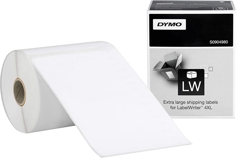 DYMO LabelWriter Shipping - Shipping Labels - Black on White - 4 in x 6 in - 220 Label(s) - New