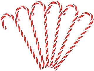 dancepandas Canne /à Sucre Noel 12PCS Sucre dorge Noel Canne de No/ël Decoration Sapin de No/ël D/écor/é Christmas Cadeaux pour Enfants