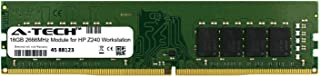 A-Tech 16GB Module for HP Z240 Workstation Desktop & Workstation Motherboard Compatible DDR4 2666Mhz Memory Ram (ATMS383245A25823X1)