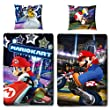 Kinder-Wende-Bettwäsche Super Mario Kart Biber