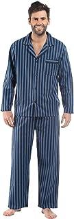 Socks Uwear Harvey James Mens 100% Cotton Striped Pyjama Nightwear