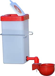 RentACoop 1 L (32oz) Automatic Fill Chick Cup Drinker Waterer