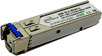 Optical SNS H3C Sfp-Ge-Lh40-Sm1310 Compatible con 1000Base-Bx Bidi Sfp TX 1310Nm/1550Nm-Rx 40 Km Dom transceptor