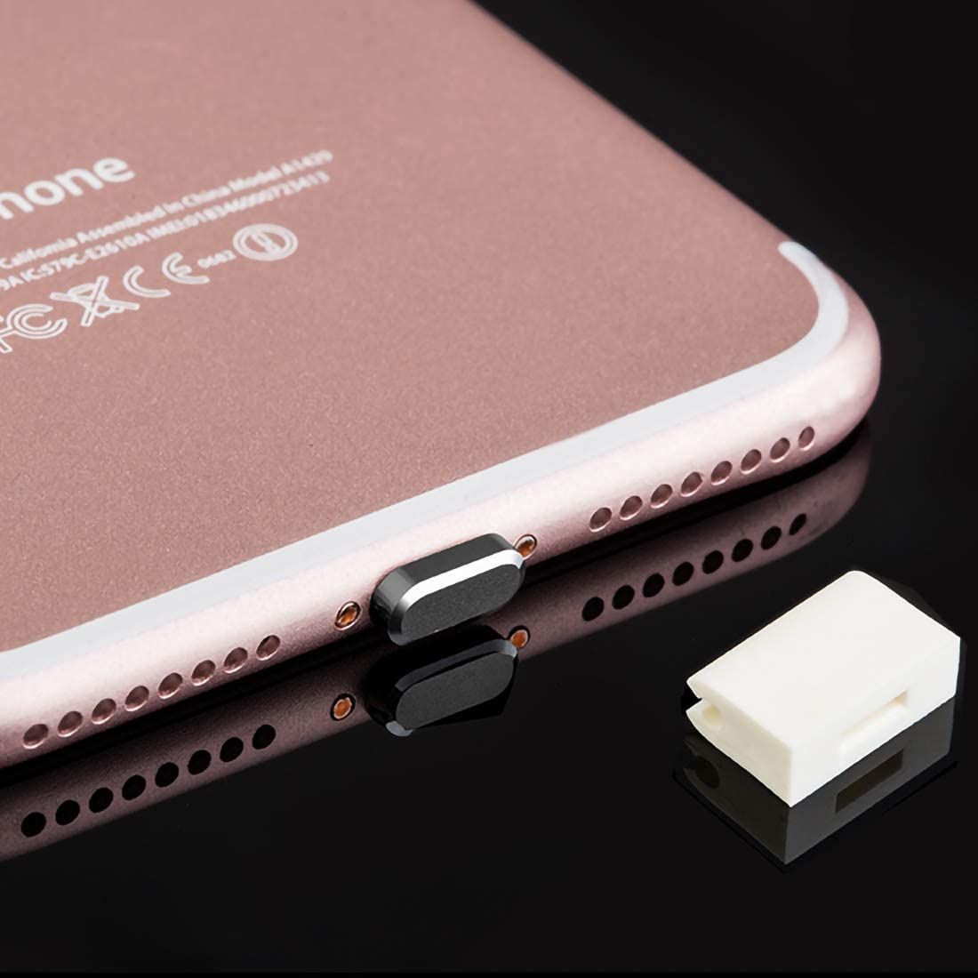 Emoly Anti-Dust Plug Super special price for iPhone Max 90% OFF 7 8 X XS Dust Cap Pro XR