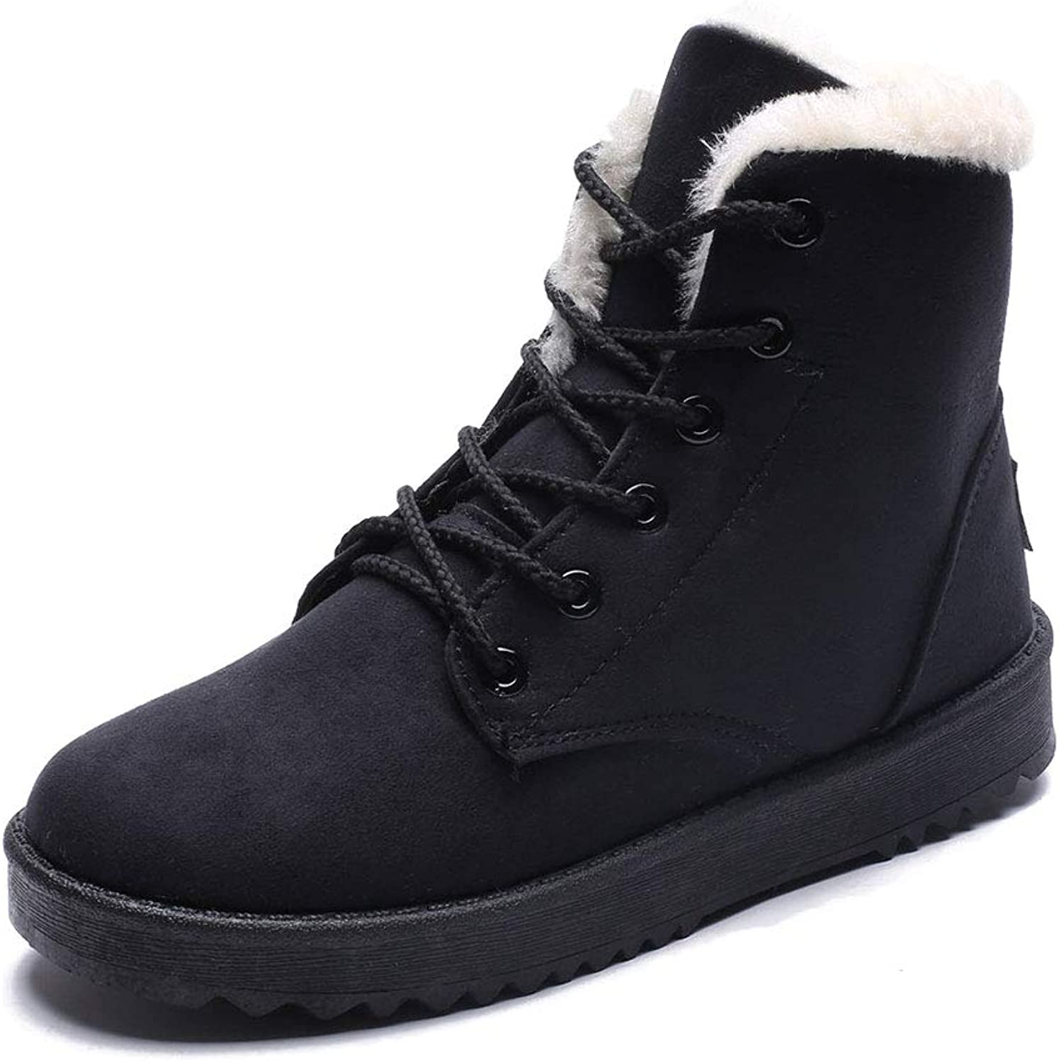 Women's Winter Boots, Short Tube Plus Velvet Warm Snow Boots, Warm, wear-Resistant, Non-Slip, Fashion