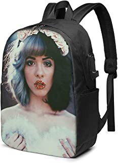 Aoligei Me-Lanie Ma-Rtinez Casual Backpack Sports Backpack Student Backpack Fashion Rucksack Full Frame Print Backpack Unisex Outdoor Travel Suitable for Adult Travel