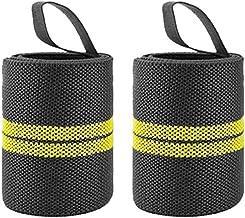 1 paar fitness gewatteerde, pols duim brace riem, polsband, ademend en comfortabel, voor gewichtstraining, sport, gym en g...