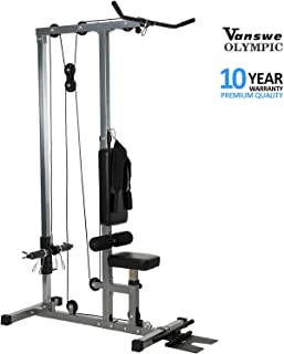lat pulldown with v bar