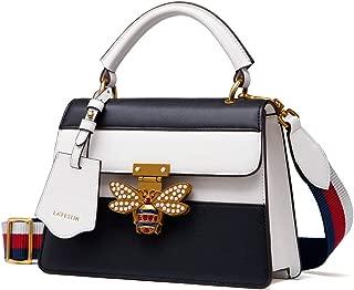 Best ladies black and white handbags Reviews