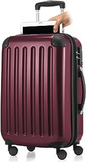 HAUPTSTADTKOFFER – Alex- Bagage à main cabine, Trolley rigide extensible avec Compartiment pour ordinateur portablel, TSA,...