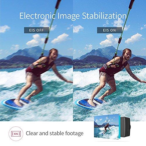 YI 4K Plus Action Kamera Schwarz 4K/60fps 12MP Wasserfest - 9