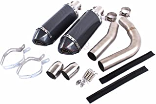 YAMAHA R1 2009-2014 Motorcycle Exhaust middle pipe + exhaust Muffler GIVE 2 FREE AKRAPOVIC DECAL
